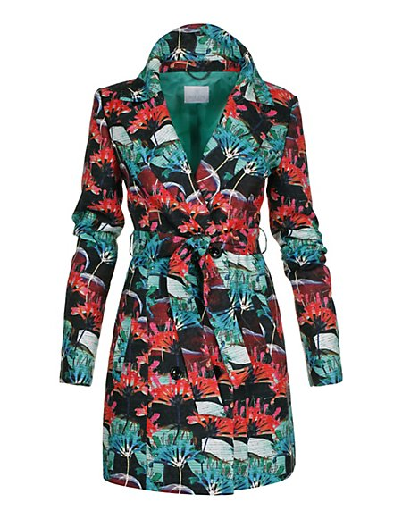 MADELEINE  Trenchcoat Dames multi colour / groen