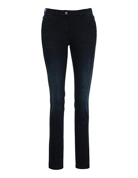 MADELEINE  Jeans Dames dark blue / blauw