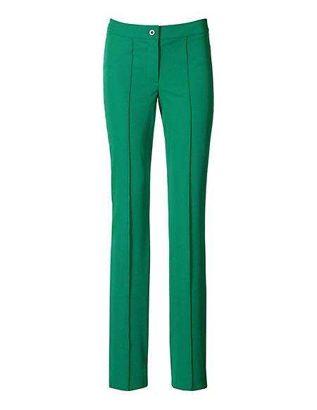MADELEINE  Techno-stretchbroek Dames groen