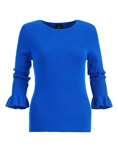 MADELEINE  Pull femme royal / bleu