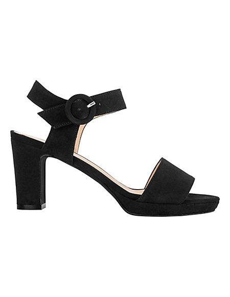 MADELEINE  Sandaaltjes Dames zwart