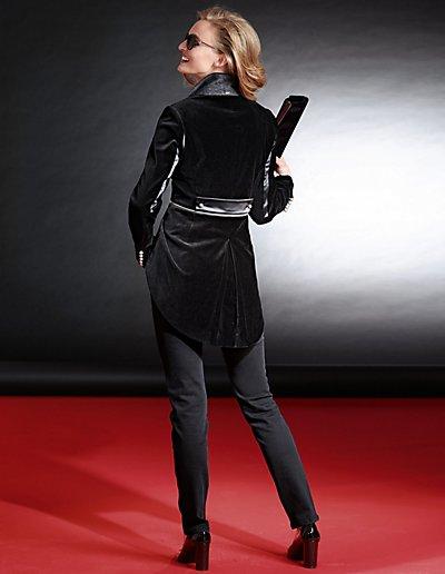 MADELEINE  Queue-de-pie femme noir