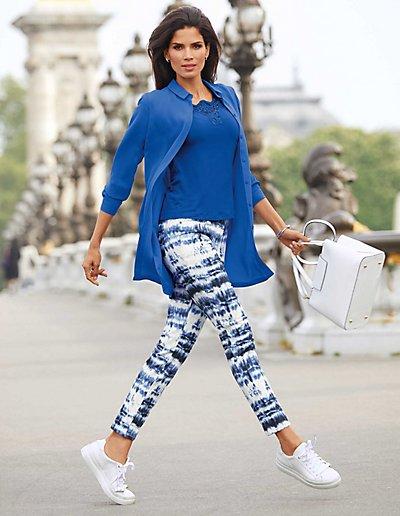 MADELEINE  Chemise femme pacifique / bleu