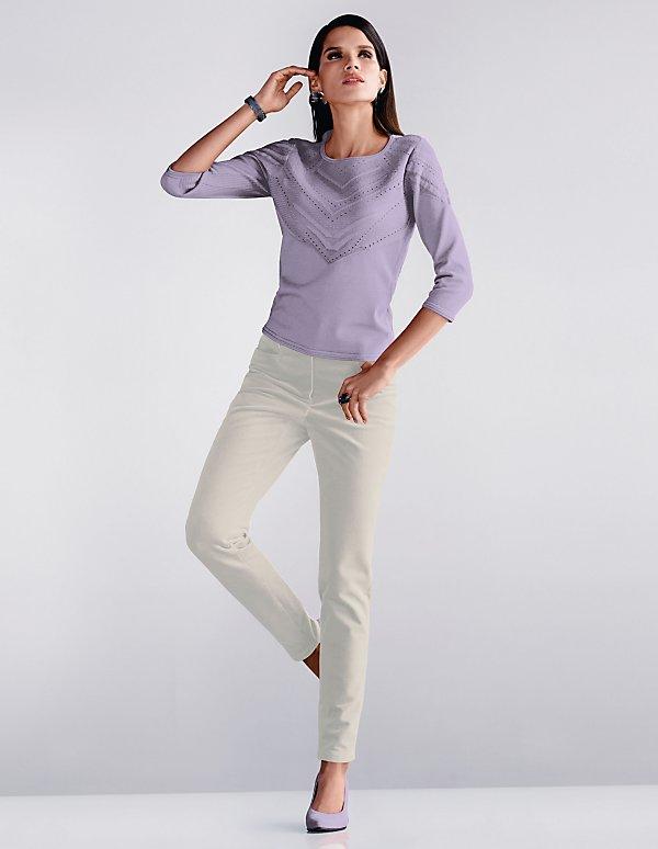 Pantalon En 50 Velours JeanRéférence 38f 87 CôteléBleu sCxthQdorB