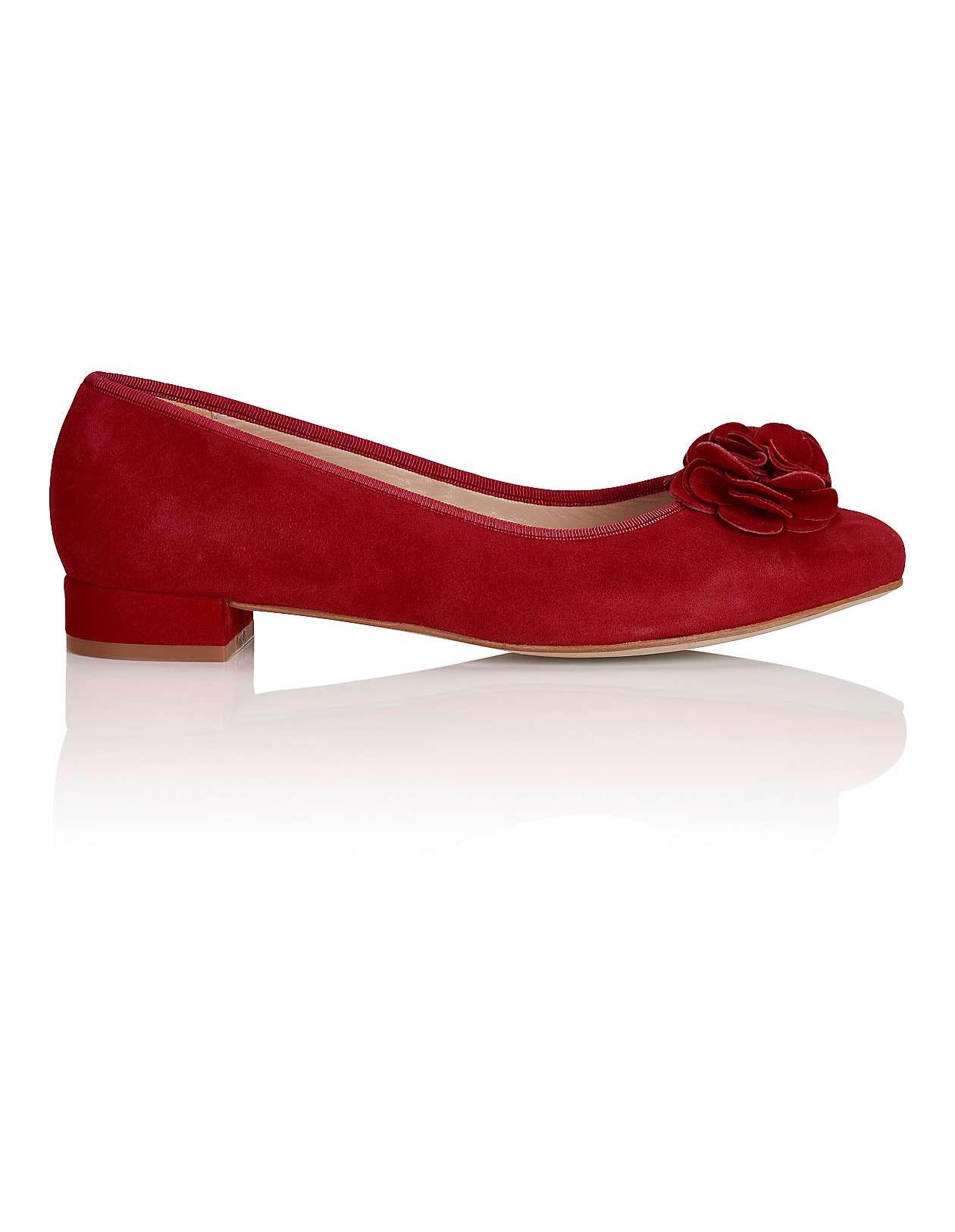 Details zu Pumps Stilettos El Dantes Echtleder Stiefeletten Stiefel Pumps rot + Gürtel 41