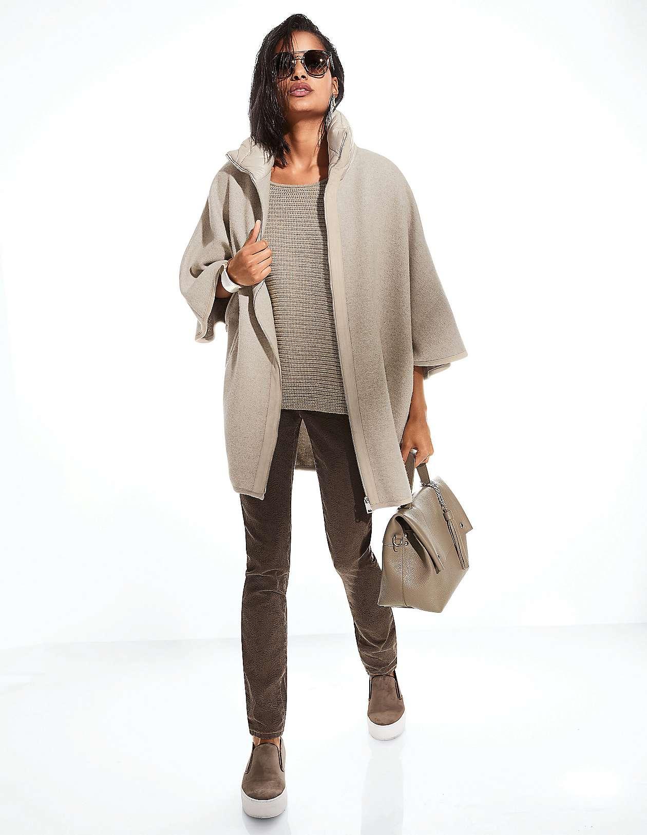 674fdc2d61d779 Modische und elegante Ponchos für Damen | MADELEINE Mode