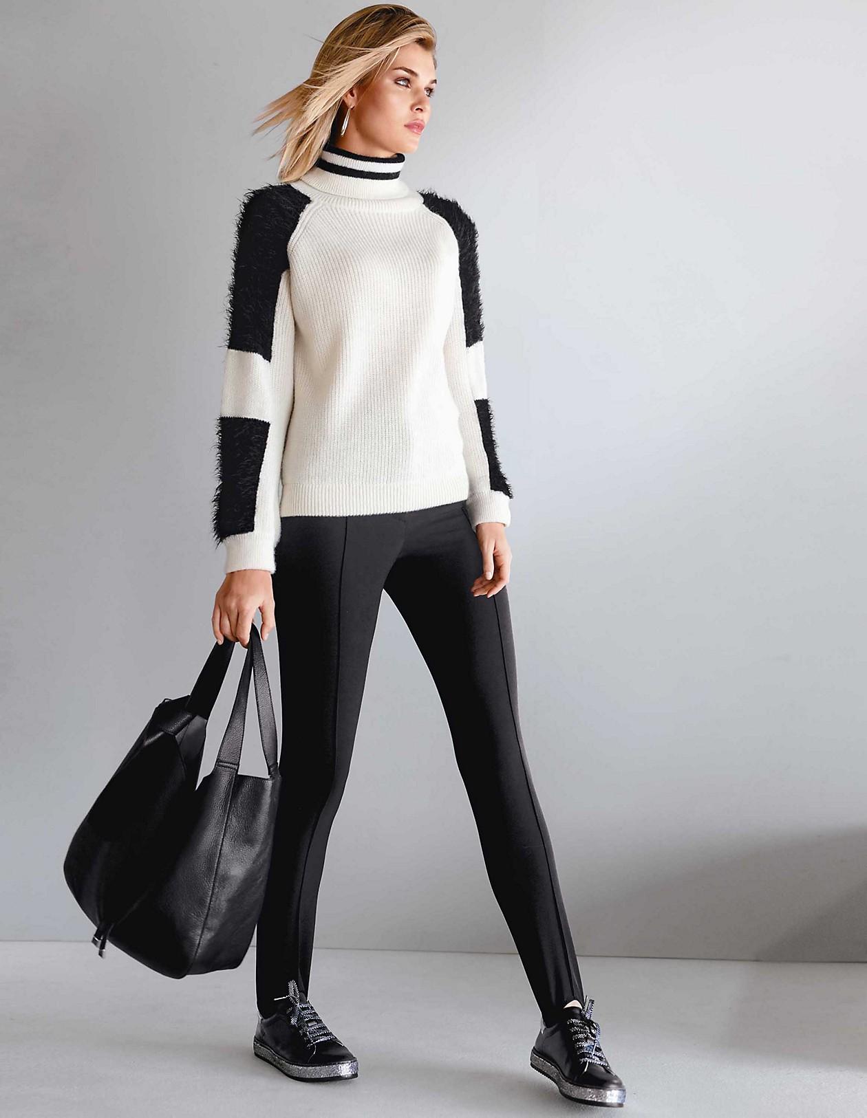 Steghose, schwarz, schwarz | MADELEINE Mode