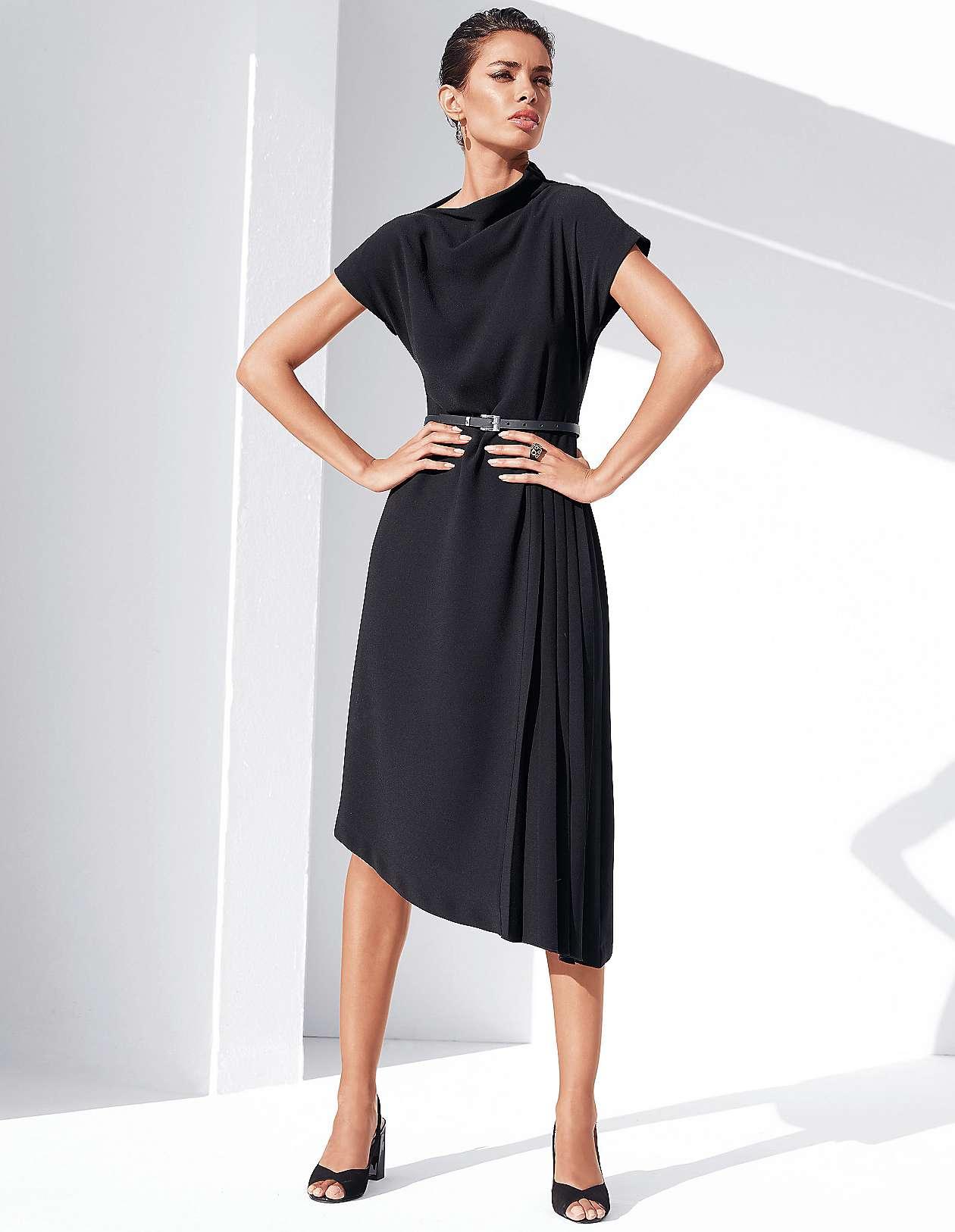 75e3f4bf798f £189.95. Asymmetrical flared dress.