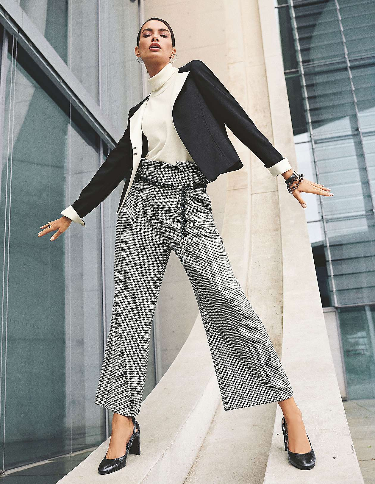 elegante palazzohosen online bestellen | madeleine mode