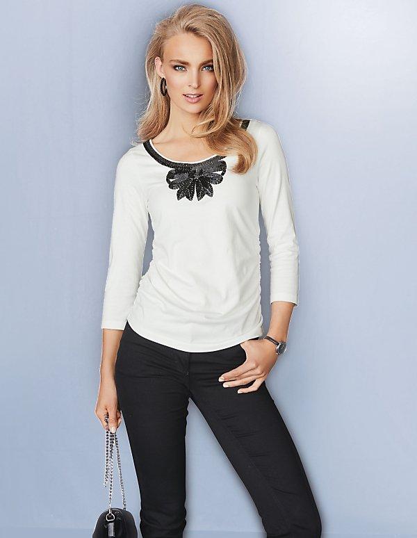 879d814edc4de3 Shirt ¾ Arm | MADELEINE Mode
