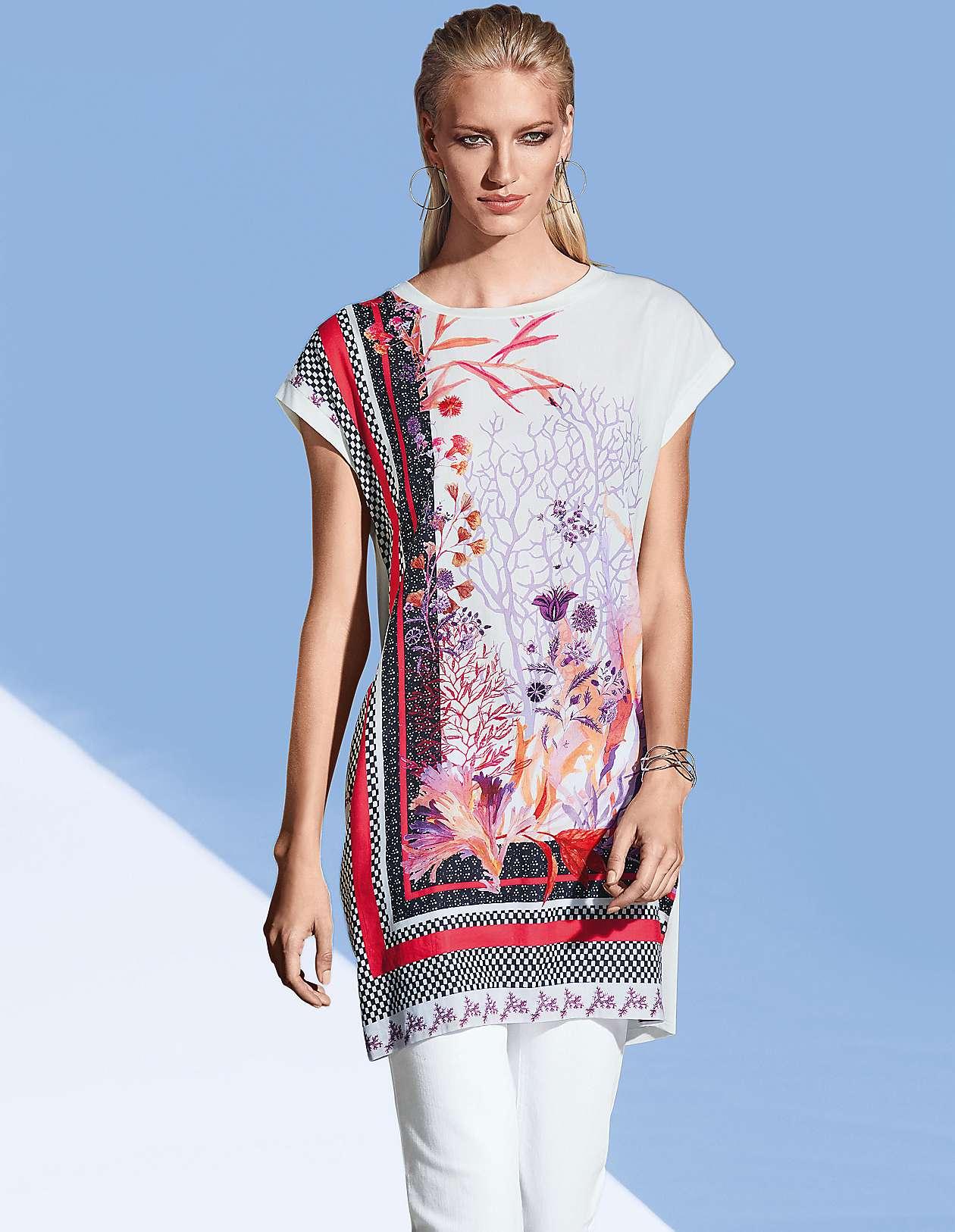 3ac6e72430e507 Edle & verspielte Tuniken online bestellen | MADELEINE Mode